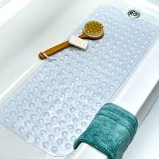 slippery bathtub photo 1 of beautiful anti bath mat extra long mats baby non slip tub