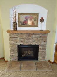 1 1 hand laid 1 2 stacked stone fireplace