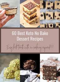 60 best keto no bake dessert recipes low carb