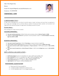 Cv For Teacher Job Cv Sample For Teaching Job Awesome Collection Of