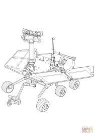 Small Picture Curiosity Mars Rover coloring page Free Printable Coloring Pages
