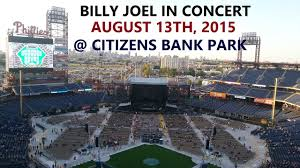 Billy Joel In Concert August 13th 2015 Citizens Bank Park