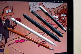 Drawing On Ipad Pro Ipad Pro Apple Pencil Drawing Test Cartoonist Gatis Sluka
