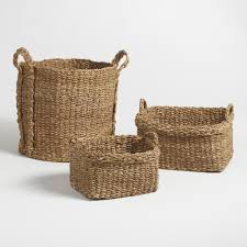 Baskets - Decorative, Storage \u0026 Wicker Weave Baskets | World Market