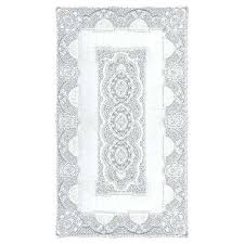 decoration classic rectangle white cotton tablecloth 90 round tablecloths