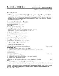 College Resume Examples For High School Seniors Cool Examples Of Resumes For Highschool Students With No Experience