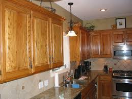 Oak Cabinet Kitchen How To Restain Kitchen Cabinets