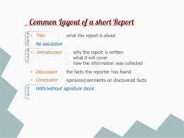 Biz Wri Memo Report Online