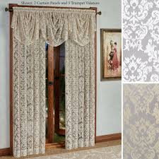 Lace Bedroom Curtains Lace Curtains Touch Of Class