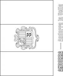 Small Picture Andorra Flag Coloring Page Download Free Andorra Flag Coloring