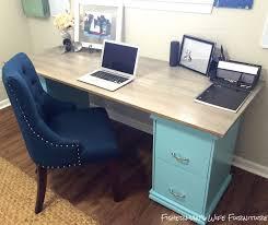 diy file cabinet desk.  Desk Diy Filing Cabinet Desk Diy Home Decor Office Painted Furniture Inside Diy File Cabinet Desk