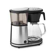 bonavita 8 cup glass carafe coffee brewer with hot plate bv1901gw the home depot