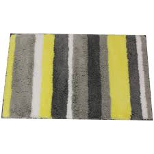 yellow and grey bathroom rug shkjp decorating clear