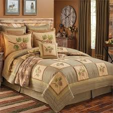 cabin style bedding. Interesting Cabin Pineview Quilt Beddign Ensemble  To Cabin Style Bedding W