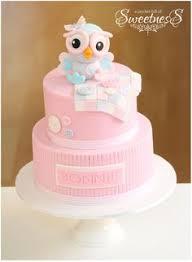 Bolo Corujas  Bolos  Pinterest  PsBaby Shower Owl Cake Toppers