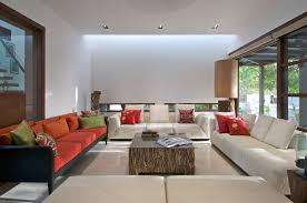 Contemporary house furniture Home Interior Related Posts Derobotech Timeless Contemporary House In India With Courtyard Zen Garden