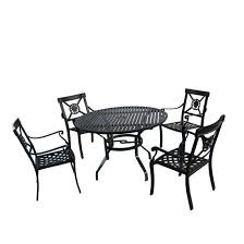 china 42 black outdoor round dining