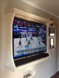 frame tv on wall love this idea even