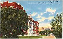 Word College University Of The Incarnate Word Wikipedia