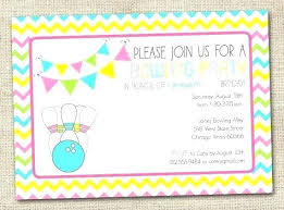 free printable birthday party invitations for girls girl bowling birthday party invitations bowling party invitations