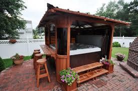 private hot tub gazebo ideas pergola