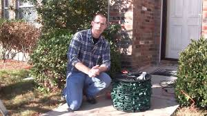 How To Hang Outdoor String Lights On Stucco Using Hot Glue To Attach Christmas Lights To Brick Stucco