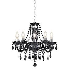 creative home design marvelous black chandelier 9 designinyou regarding marvelous black chandelier terrific black