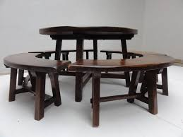 perfect rustic round kitchen table round kitchen tables for 6 round dining table set for 6