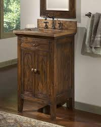 rustic bathroom vanities ideas. Modren Rustic Rustic Bathroom Vanities Country Design Idea Vessel Sink Plus Wall  Mirror Diy Vanity Ideas Inside