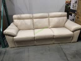 costco 1041123 natuzzi group leather sofa