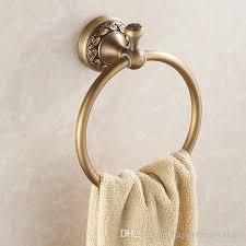 bath towel holder. 2018 Antique Copper Circular Towel Holder Ring Rack Bathroom Accessories High Quality Bath Hardware From Happyfamilyalike, E