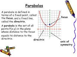 8 2 graph and write equations of parabolas 2 parabolas