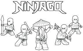 Lego Ninjago Coloring Pages Printable Jokingartcom Lego Ninjago