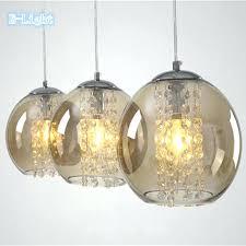 large glass ball pendant light large glass globe pendant light with crystal tom glass ball