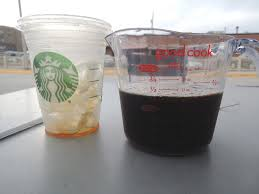 However.a lot of coffee scoop makers are a bit sloppy with their designs. Is Starbucks Putting Too Much Ice In Cold Drinks