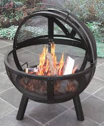 ball of fire steel wood burning fire pit