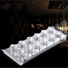 rectangle acrylic shot glass tray for bar