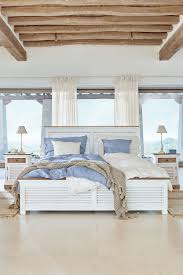Maritimes Flair Für Dein Schlafzimmer Weiß Und Helles Blau Sorgen