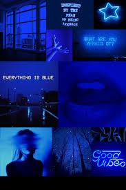 Dark blue wallpaper, Blue aesthetic