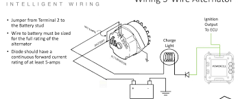 one wire alternator wiring diagram solidfonts 1 wire chevy alternator wiring diagram automotive diagrams