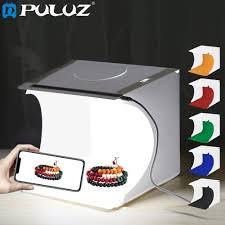 Generic <b>PULUZ</b> 20*<b>20cm</b> 8 Mini <b>Folding</b> Studio Diffuse Soft Box ...