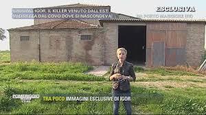 Video Pomeriggio Cinque Il covo di Igor DIBATTITI E SERVIZI.