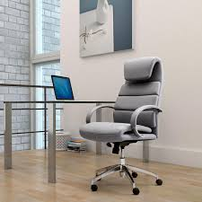 choose home office. choose the best office chair for your home gray leather comfort modern