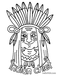 Indian Coloring Pages - GetColoringPages.com
