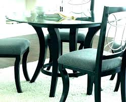 small round glass dining table and chairs for 2 chair