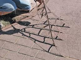 paint concrete patio diy driveway diy