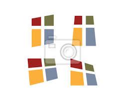 Unique Fulcolor Windows Zusammenfassung Symbol Logo Set