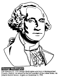 Small Picture US President George Washington Coloring Page crayolacom