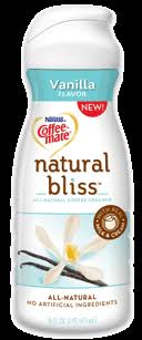 With a smooth, rich, and delicious silky sweet flavor, sweet cream is made with simple ingredients—milk, cream, sugar, and natural sweet cream flavor. Coffee Mate Natural Bliss Creamer Vanilla Review Shespeaks