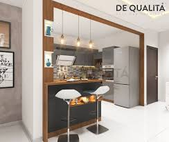Small Kitchen Design With Breakfast Counter A Beautiful Breakfast Counter Fits Well In Any Kind Of